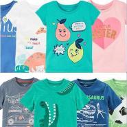 Carter's:美国美国精选男、女童上衣T恤、打底裤、短裤特卖