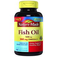 【美亚自营】Nature Made Omega-3 深海鱼油胶囊 1200mg 150粒