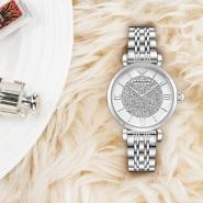 【55专享】补货!Emporio Armani 爱姆普里奥·阿玛尼 AR1925 白色水晶装饰女士时尚腕表