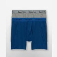 Calvin Klein CK MICRO STRETCH 男士平角裤 2件装 3色选