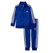 【美亚直邮】Adidas 阿迪达斯 Tricot 男童拉链夹克外套长裤套装