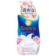 COSME大赏获奖产品!【日本亚马逊】COW 牛乳石碱 bouncia 浓密泡沫沐浴露550ml