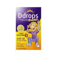 【美亚直邮】Ddrops Booster 加强型维生素D3滴剂 600IU 100滴 2.8ml