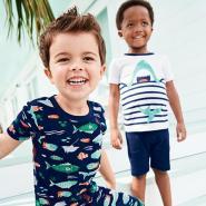 Carter's 卡特美国官网:精选男、女童T恤、短裤等
