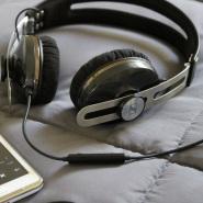 【中亚Prime会员】Sennheiser 森海塞尔 Momentum On-Ear 小馒头二代头戴式耳机 黑色 iPhone版