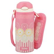 【中亚Prime会员】Thermos 膳魔师 FHL-400F儿童保温吸管杯 粉色