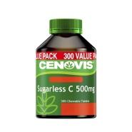 【立减5澳+免邮】Cenovis 无糖维生素C 500mg 300片