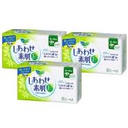 【日本亚马逊】花王 乐而雅 超安心F系列卫生巾 22.5cm 22枚*3包