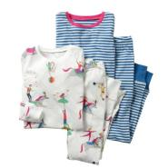 MINI BODEN Two-Pack Fitted Two-Piece Pajamas 女童两套睡衣