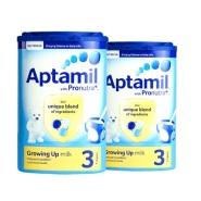 英国直邮,超值好价!Aptamil 爱他美婴幼儿奶粉 3段(1-2岁)900g*2罐