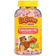 【中亚Prime会员】L'il Critters 钙+维生素D3小熊软糖 150粒装