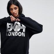 免费直邮中国!Boy London Eagle 银色 Logo 卫衣