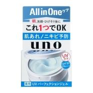 2018新款!【日本亚马逊】Uno 男士防晒啫喱面霜 SPF30 80g