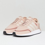 免费直邮中国!adidas Originals 阿迪达斯 N-5923 女士粉色运动鞋
