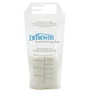 实用必囤!【中亚Prime会员】Dr Brown's 布朗博士 母乳储存袋保鲜袋储奶袋180ml 50个装