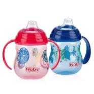 【中亚Prime会员】Nuby 努比 Soft Flex 婴儿儿童学饮杯水杯 270ml*2个