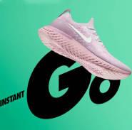 【20号0点开售】让小编的少女心已经控制不住的 Nike 耐克 Epic React Flyknit 粉色女士跑鞋