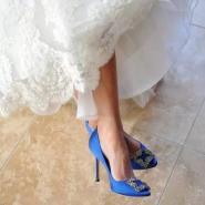 Olivia Palermo 同款婚鞋!Manolo Blahnik 方扣高跟鞋