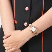Calvin Klein 凯文克莱 Belt 系列 K5H236X6 女士优雅玫瑰金装饰腕表