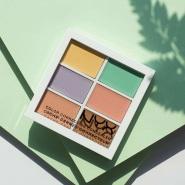【美亚直邮】NYX Professional Makeup 6色修容遮瑕盘