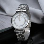 免运费!Armani 阿玛尼 钢带时尚石英女士腕表 AR1908