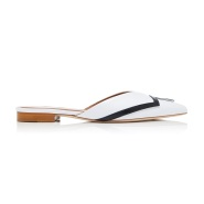 Malone Souliers X Emanuel Ungaro 合作系列 Amelie 皮制尖头穆勒鞋