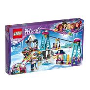 【中亚Prime会员】LEGO 乐高 41324 好朋友系列 滑雪度假村升降缆车