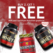 The Vitamin Shoppe:精選 BSN & Optimum Nutrition 運動營養補給
