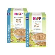 【立减5欧+免邮中国】Hipp 喜宝 五种谷物米粉 6M+ 350g*2盒装