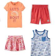 Oshkosh B'gosh:美國官網童款T恤、背心、短褲、半身裙等