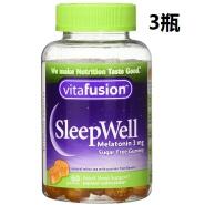 【中亚Prime会员】Vitafusion 褪黑素助眠糖睡眠糖 60粒*3