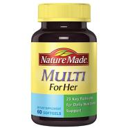 【美亚自营】Nature Made Multi for Her 女性多种复合综合维生素60粒