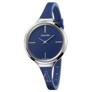 Calvin Klein 凯文克莱 Lively 系列 K4U231VN 女士极简主义深蓝色时尚腕表