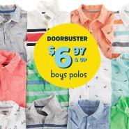 Oshkosh B'gosh:美国官网男童polo衫