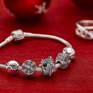 【中亚Prime会员】Pandora 潘多拉魅力纯银基本款手镯 19cm