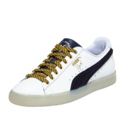 新低价~~PUMA Clyde Leather BHM 男款小白鞋