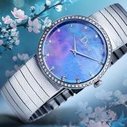 【立减$800】Dior 迪奥 Baby D 系列 CD042111M004 星空镶钻时装腕表
