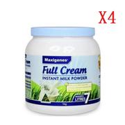 【4罐免郵裝+降價】Maxigenes 美可卓全脂高鈣成人奶粉 藍胖子 1kg*4罐裝