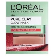 【中亚Prime会员】L'Oreal 欧莱雅 Pure Clay 矿物泥排毒面膜 50ml