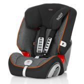 【直降15刀+免郵】Britax 寶得適汽車兒童安全座椅Evolva1-2-3 plus超級百變王 曜石黑