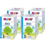 德国直邮!Hipp 喜宝BIO有机配方奶粉 3段 800g*4盒