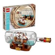 史低价!【美亚自营】LEGO 乐高 IDEAS系列 21313 瓶中船