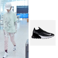【55海淘节】周冬雨同款白色售罄,黑色有货!Nike 耐克 Air Max 270 Flyknit 女士跑鞋