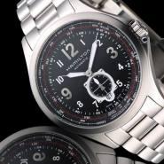 Hamilton 汉密尔顿 Khaki Aviation QNE 系列 H76655133 男士自动机械手表