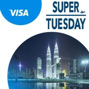 超級星期二!攜程國際:機票折扣 Visa 卡預定