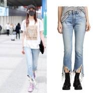 【关晓彤同款】R13 Kick Long Jeans  喇叭牛仔裤