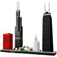 【55海淘节】美亚自营~LEGO 乐高 Architecture 建筑系列 21033 芝加哥