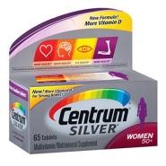 【美亚自营】Centrum 善存 银级女士专用综合维生素 适合50岁以上女性 65片