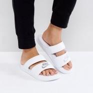【2双包邮】Nike 耐克 Benassi Duo Ultra Slide 时尚女子拖鞋