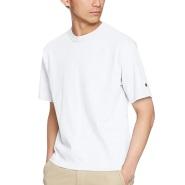 白色好价!【中亚Prime会员】Champion 冠军 运动圆领速干透气日版短袖T恤